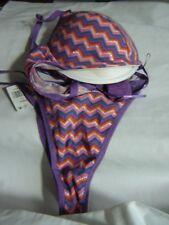 Primark SecretPossessions Ladies/Girls Purple Mix Bra Set.Size 36D/L