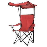 Folding Chair With Shelter & Shade Canopy Camping Festival EASY CARRY Portable