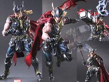 Play Arts Kai Marvel Universe Avengers Thor Odinson Figure Figurine No Box