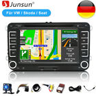 """7"""" Autoradio Navi GPS DVD Bluetooth Für VW Golf 5 6 Passat Touran EOS Skoda"""