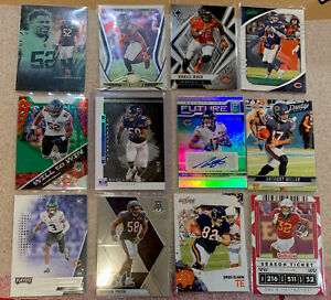 Chicago Bears Lot Of 12! Impeccable /50 Auto /149 Mosaic RC + Mack Miller Olsen+