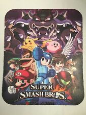 "New Super Smash  Wii U - Mouse Pad - Size 7 3/4"" x 9 1/4"" - Fast shipping"