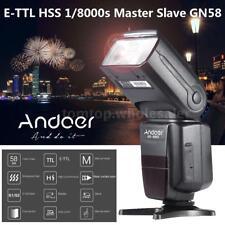 Andoer E-TTL HSS GN58 Flash Speedlite for Canon 40D/30D/700D/100D/650D/600D DSLR