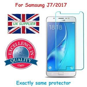 Genuine Tempered Glass Screen Protector For Samsung Galaxy J7 (2017)