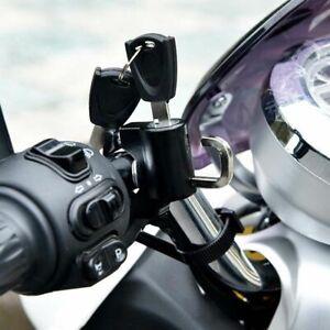 Anti-theft Security Dirt Bike Helmet Lock Motorcycle Handlebar Lock Helmet Hook