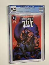 Batman Vengeance of Bane Special 1 CGC 9.2 WP 1993 DC Comics