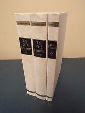 1455 Gutenberg Bible in 3 Volumes - Large Folio - 1968 Facsimile Edition