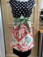 Handmade Half Ladies Apron Peg Pocket Jane Churchill & Laura Ashley Fabrics XL