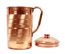 Pure Copper Jug Pitcher Water Storage -1.3 Ltr (100% Original Guaranteed)