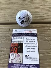 MAVERICK MCNEALY Signed Autographed Golf Ball Ben Hogan Stanford PGA JSA COA 1