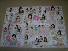 New AKB48 NMB48 HKT48 SKE48 Poster kawaii Sayaka Yamamoto Sakura Miyawaki F/S jp