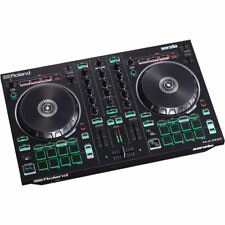 Roland DJ-202 2-Channel, 4-Deck DJ Controller w/ Serato Intro & Cable Included