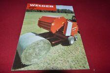 Welger RP 200 Round Baler Dealers Brochure CDIL