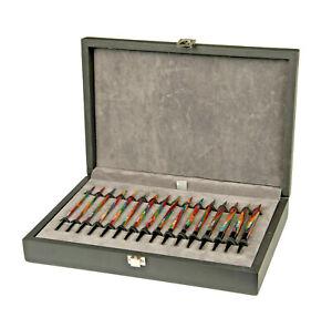 Lana Grossa Stricknadel-Set VARIO - Design-Holz - Stricknadelset Multicolor