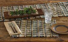 """Table Runner 54"""" - Tempest by Park Designs - Kitchen Dining Green Blue Tan"""