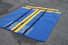 Hobie WAVE CLUB Cat Tramp Trampoline BLUE MESH YELLOW Vinyl Wrap 2 clear Pockets