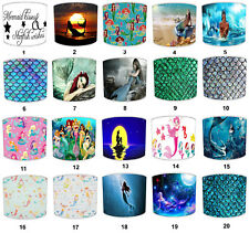 Mermaid Lampshade Ceiling Pendant Light Shade Girls Bedroom Nursery Gifts Scales