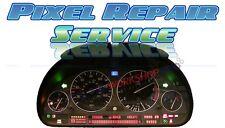 BMW E38 E39 E53 M5 X5 Instrument Cluster LCD Pixel Repair Service