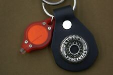 INDIAN MOTORCYCLES GENUINE NOS LEATHER KEY CHAIN FOB CHIEF SCOUT 45 FOUR # 007
