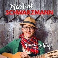 MARTINA SCHWARZMANN - GENAU RICHTIG !  2 CD NEU