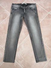 "Vero Moda - Faded Black Stretch Denim Skinny Jeans - 27"" W 26"" L"
