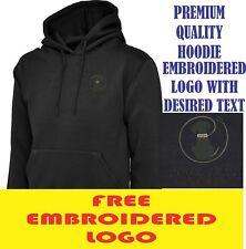 Personalised Embroidered  Hoodie DOG WALKING workwear LOGO