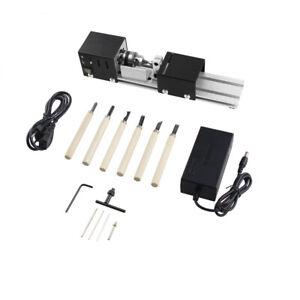 100W Mini Perlen Drehmaschine Drechselbank Poliermaschine DIY Werkzeug12-24VDC