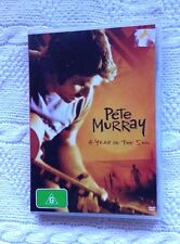 PETE MYRRAY: A YEAR IN THE SUN (DVD) R-ALL, LIKE NEW, FREE POST IN AUSTRALIA
