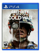Call of Duty: Black Ops Cold War Cod Bo Used Sealed (PlayStation 4, 2020) Ps4