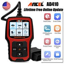 Ancel AD410 Car Engine Fast Diagnosis Live Data Automotive OBD EOBD Code Reader
