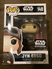 FUNKO POP! STAR WARS JYN ERSO #148 SMUGGLER'S BOUNTY EXCLUSIVE (ROGUE ONE) (NEW)