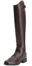 Ariat Heritage Contour Field Zip Riding Boots Sienna Brown Extra Slim UK5M