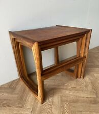 G PLAN VINTAGE QUADRILLE NEST OF 3 COFFEE SIDE TABLES ** FREE DELIVERY **