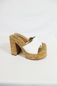 ROC Boots Cashew Slide Platforms UK Size 6