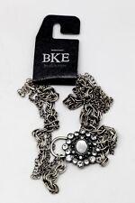 "Genuine BKE Buckle Women's Fashion Jewelry Chic 24 Acrylic ""Gem"" Silver Pendant"