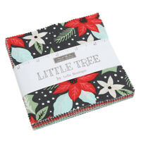 """Moda FABRIC Charm Pack ~ Little Tree ~ by Lella Boutique 42 -  5"""" squares"""