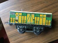 HORNBY - O - : 1 Wagon marchandises à 2 essieux - primeurs - Série M .Etat: B -
