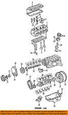 GM OEM-Engine Crankshaft Crank Main Bearing 10132705