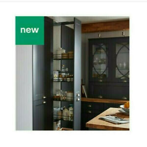 PULL OUT TALL LARDER UNIT WITH 5 BASKETS FOR 300MM (30cm) B&Q Goodhome NEW *