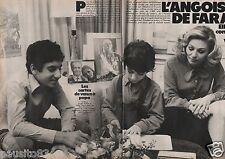 Coupure de presse Clipping 1979 lImpératrice Farah Diba (6 pages)