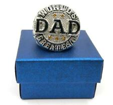 Worlds Greatest DAD My #1 Hero Endless Love Ring Fathers Day Birthday Xmas Gift