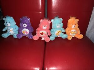 CAREBEARS SET OF 5 HARD TO GET! New Without Tags