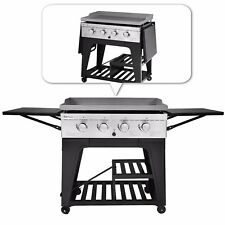 Royal Gourmet BBQ Gas Propane Grill 4 Burner Griddle