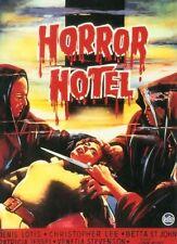 HORROR HOTEL (DVD, 1963 WITCHCRAFT HAMMER CHRISTOPHER LEE)