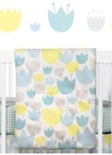 NEW Babyletto 2-in-1 Toddler and Play Blanket Tulip Garden Baby Nursery T11032