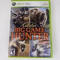 Cabela's Big Game Hunter Game Only For Xbox 360 Shooter