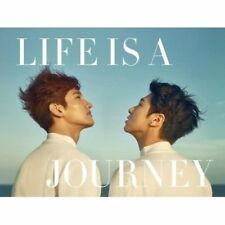 TVXQ!-[Life Is A Journey] DVD+PhotoBook+Folding Poster/On+Post+Gift+Tracking