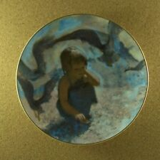 Seashells Plate Precious Moments Collection Thornton Utz 1980 #4 Fourth Seaside