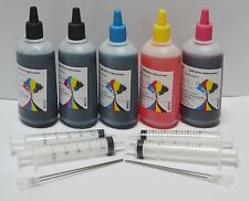 Bulk 500ml refill ink for HP inkjet printer 4 colors New York