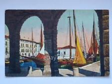 DESENZANO Lago di Garda Banca Popolare Brescia vecchia cartolina